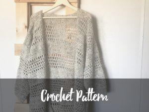 Hemlock Cardigan crochet pattern